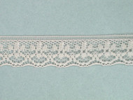"Beige Edge Lace Trim - 0.625"" (624 yards) (BG0058E01W)"