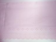 "Lt Pink Eyelet Trim - 9.625"" (PK0958E01)"