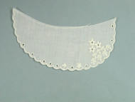 "Ivory Eyelet Collar (Set of 2) - 6"" Long (APC011)"