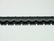 "Black Edge Lace Trim - 0.375"" (BK0038E05)"