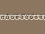 "Beige Edge Lace Trim - .375"" (BG0038E08)"