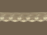 "Ivory Edge Lace Trim w/ Fine Netting - 2"" (IV0200E05)"
