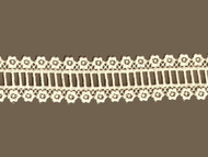"Ivory Venise Lace Trim - Cotton - 1.625"" (IV0158U01)"