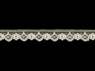 "Off White Edge Lace Trim - .625"" (WT0058E07)"
