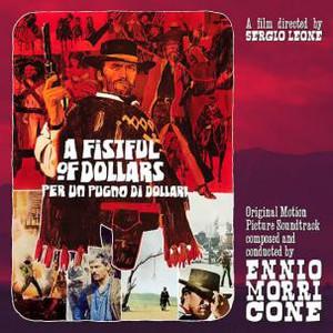 """ENNIO MORRICONE Per Un Pugno Di Dollari / A Fistful Of Dollars (Original Sountrack) 10"""""""
