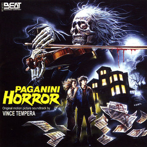 VINCE TEMPERA Paganini Horror CD