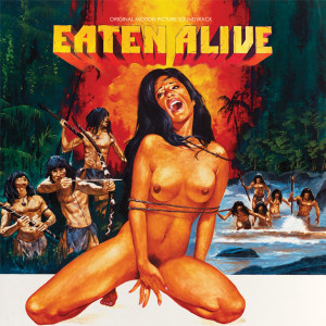 ROBERTO DONATI: Eaten Alive! (Original Motion Picture Soundtrack) LP