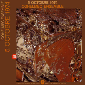 COHELMEC ENSEMBLE: 5 Octobre 1974 2LP