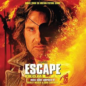 SHIRLEY WALKER & JOHN CARPENTER: Escape from L.A. (Original Soundtrack) 2LP