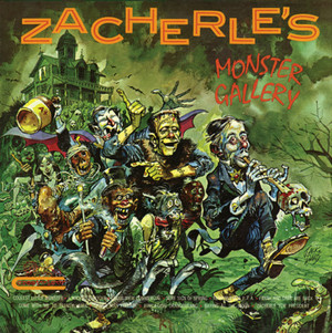 "ZACHERLE: Zacherle's Monster Gallery Limited Orange & Green ""Pumpkin"" Edition LP"