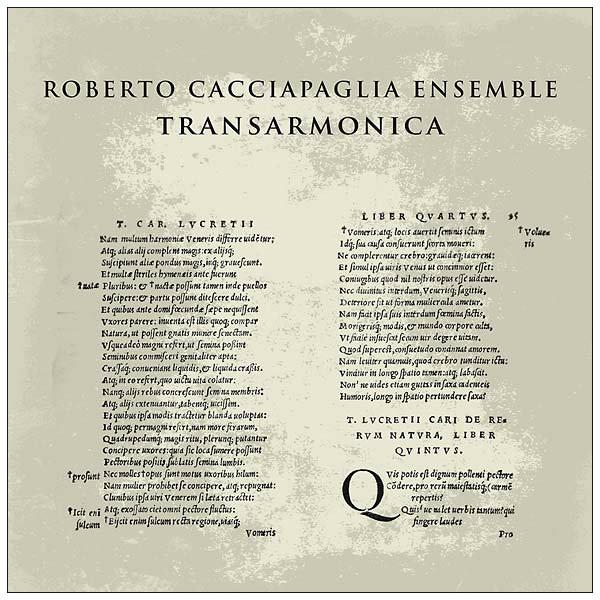 ROBERTO CACCIAPAGLIA ENSEMBLE Transarmonica LP