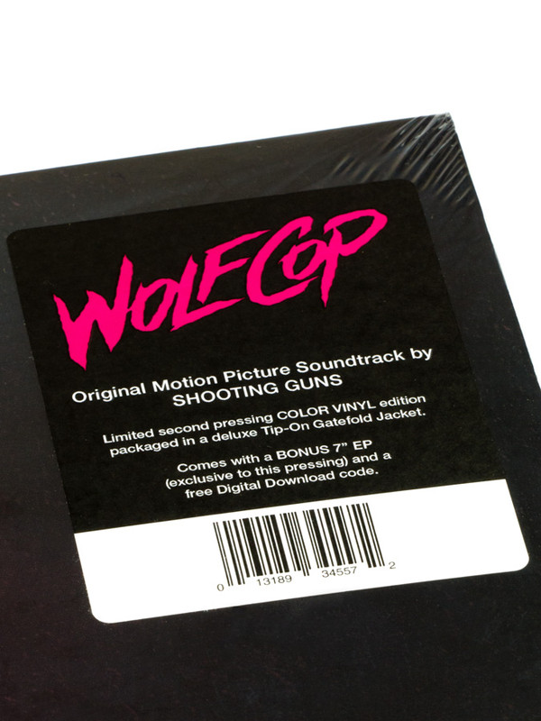 SHOOTING GUNS Wolfcop (Original Motion Picture Soundtrack) LP+7""
