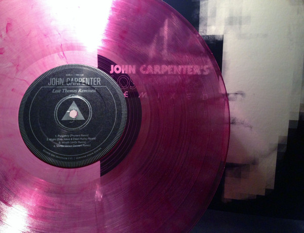 John Carpenter Lost Themes Remixed Red Amp Clear Swirl
