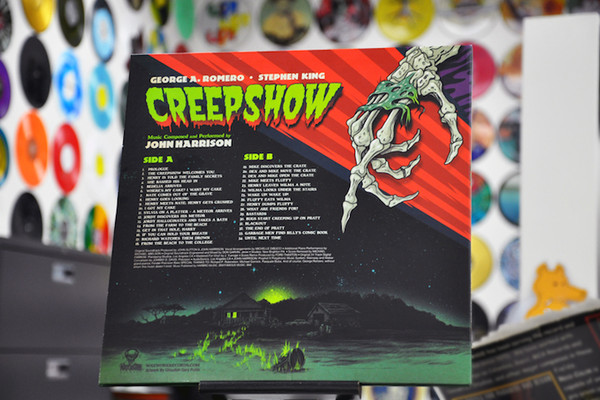 JOHN HARRISON Creepshow (Original 1982 Score) LP