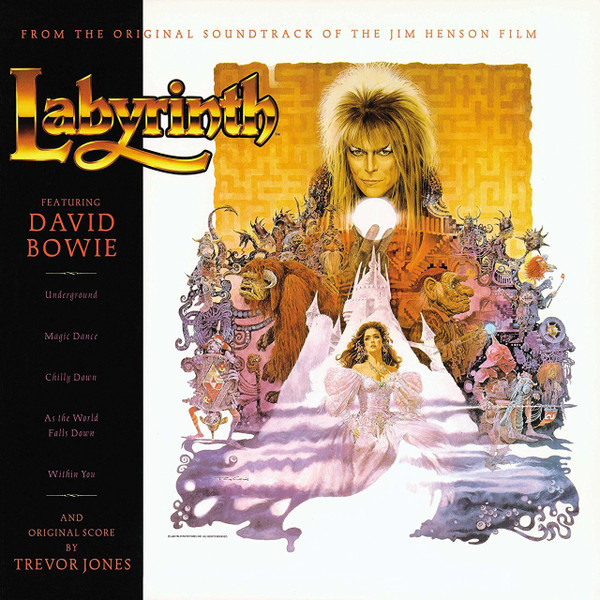 DAVID BOWIE/TREVOR JONES: Labyrinth LP