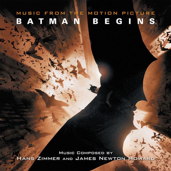 HANS ZIMMER & JAMES NEWTON HOWARD: Batman Begins (Original Soundtrack) 2LP