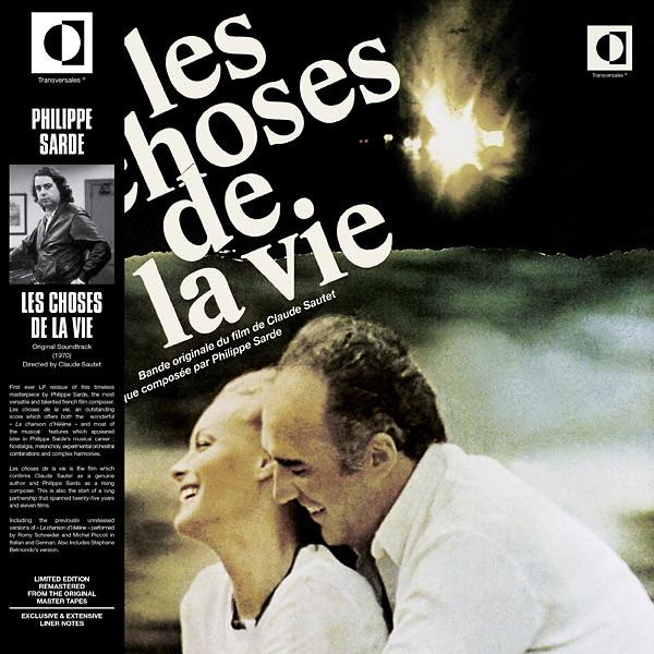 PHILIPPE SARDE: Les Choses De La Vie LP