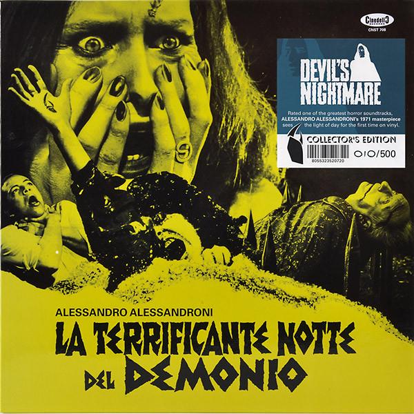 ALESSANDRO ALESSANDRONI: Devil's Nightmare (La Terrificante Notte Del Demonio) LP