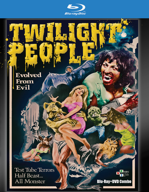 The Twilight People Blu-ray + DVD