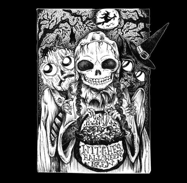 V/A: Witches' Halloween Brew (Pumpkin Orange) Cassette