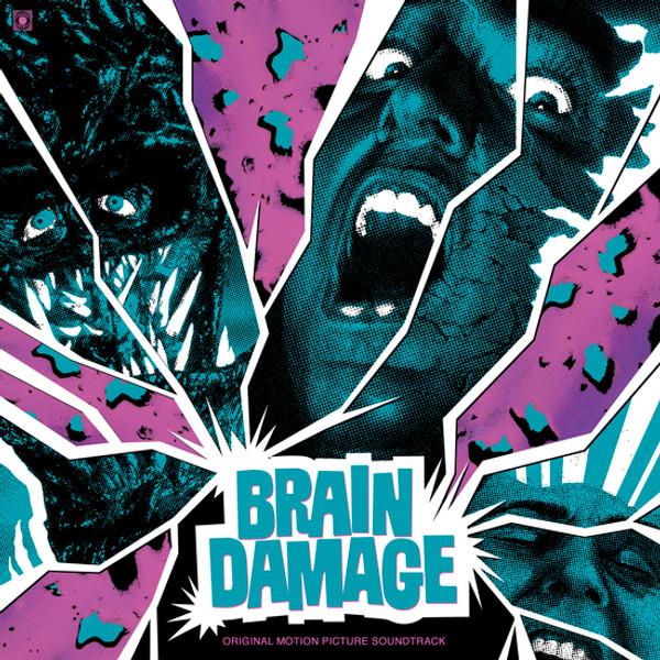 GUS RUSSO & CLUTCH REISER: Brain Damage (Original Soundtrack) LP