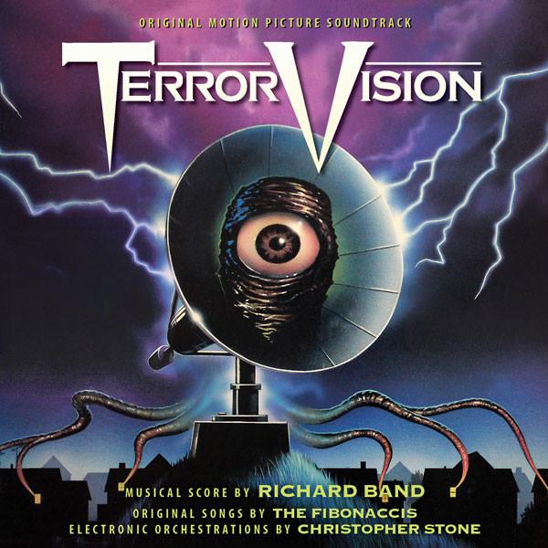 RICHARD BAND: Terrorvison (Original Soundtrack) CD