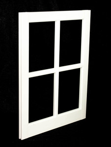 20 x 25 White PVC Barn Sash Window (BS2025W)