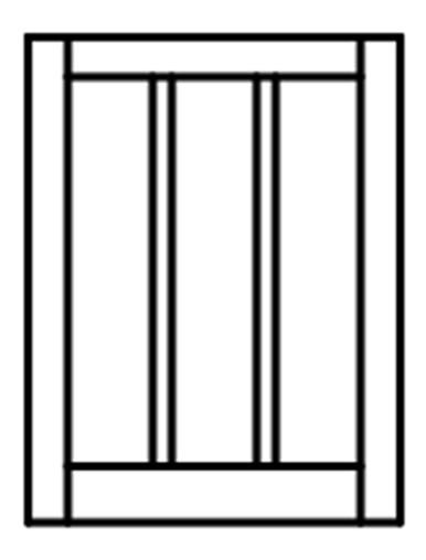 Custom sized barn sash white pvc or wood 3w x 1h lite for Custom wood windows online