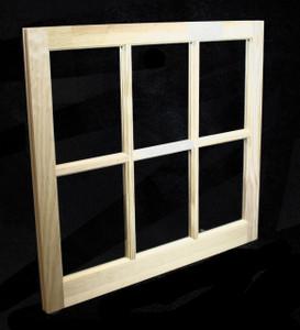 Custom sized barn sash white pvc or wood 3w x 2h lite for Custom wood windows online