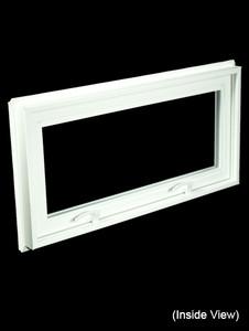 32 x 15-1/4 White PVC Hopper / Awning Window (NVC3216W)