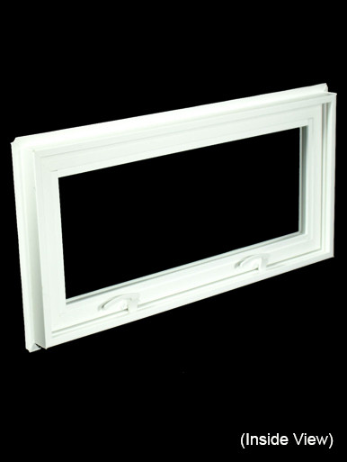 32 x 15 1 4 white pvc hopper awning window nvc3216w for 15 window