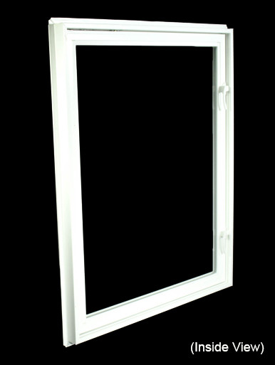 32 x 40 white egress casement window nvc3240w