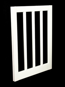 22 x 29 White PVC Barn Sash Window (BS2229WJ)