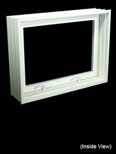 "31-7/8 x 23-7/8 Full 8"" Jamb PVC Hopper / Awning Windows (NVPC3224W7)"
