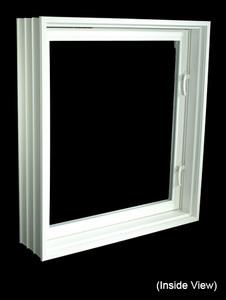 """31-7/8 x 39-7/8 Full 8"""" Jamb PVC Egress Casement Windows (NVPC3240W7)"""