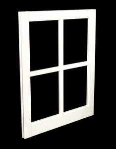 24 x 29 White PVC Barn Sash Window (BS2429W)