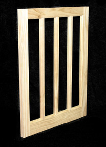 22 x 29 Natural Pine Barn Sash Window (BSW2229J)