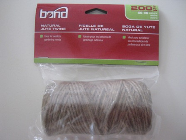 Natural Jute Twine - 190 ft.