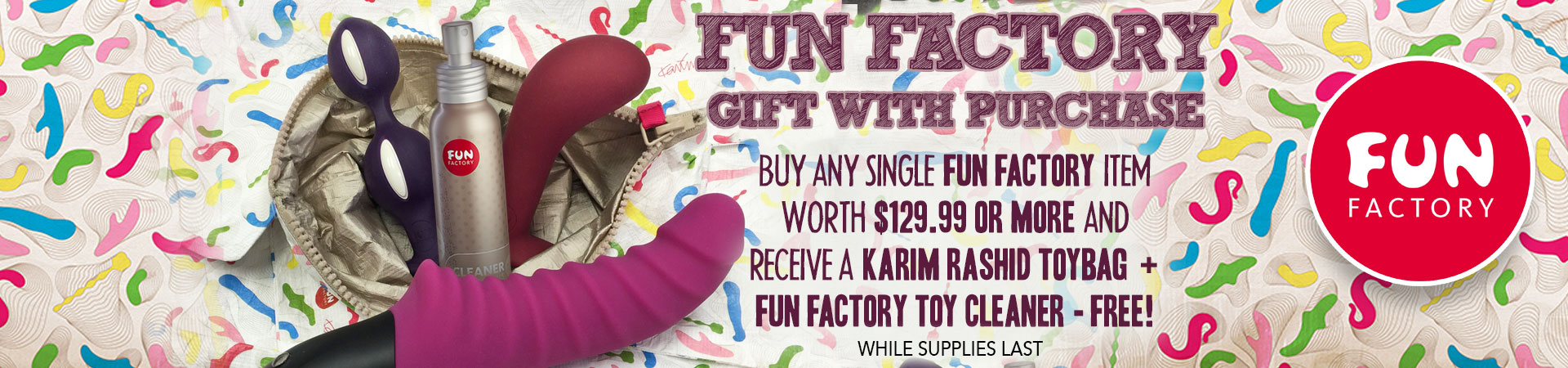 Fun Factory Gift With Purchase - While Supplies Last
