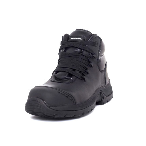 Mack Boots Zero II Waterproof Lightweight Composite Toe Lace Up Work Boots Black