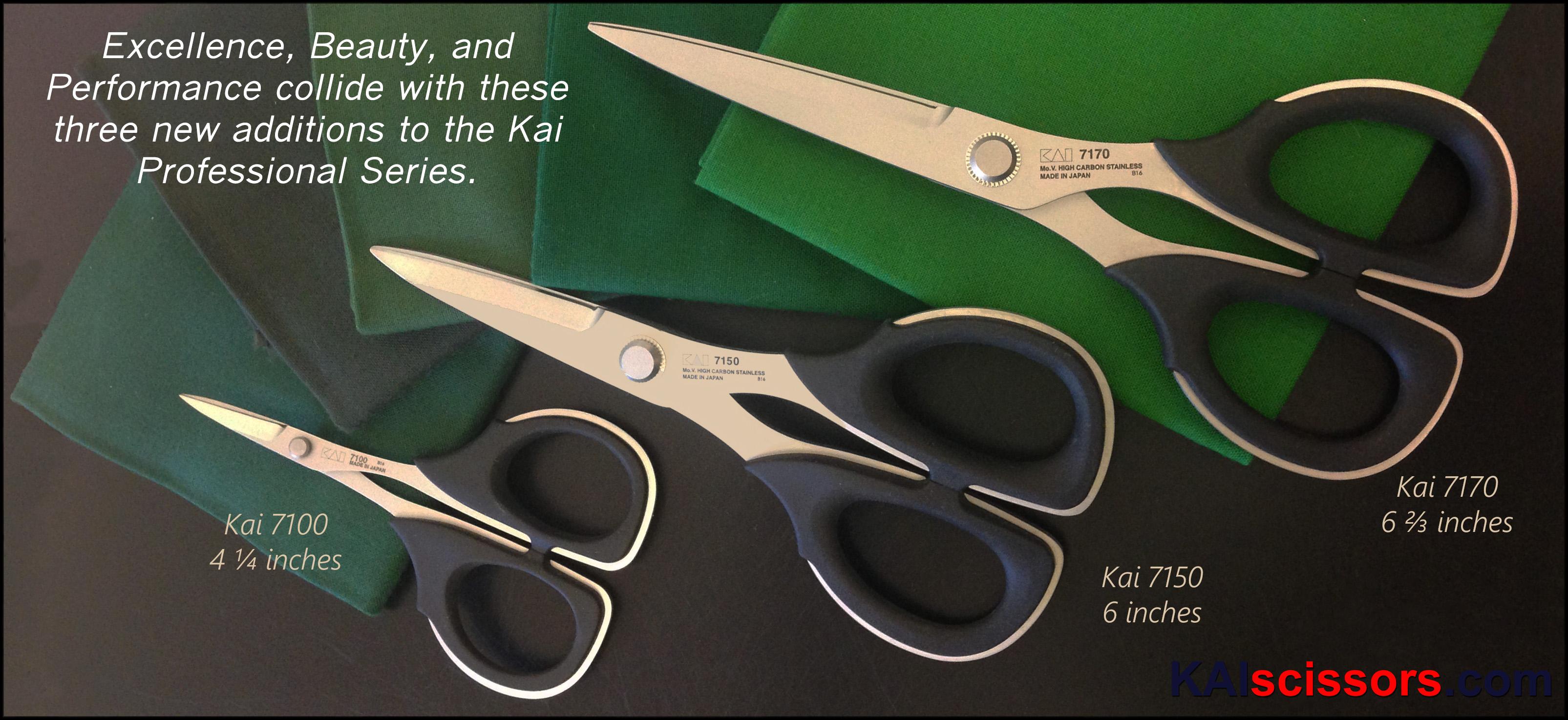 Kai Scissors Quilting And Sewing Scissors