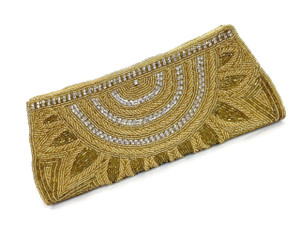 Gold toned beads, diamante and amazing hand work - go into creating this masterpiece.