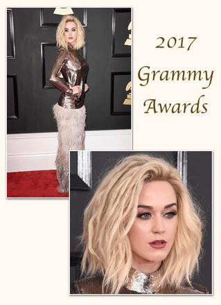 Katy Perry for the 2017 Grammy Awards