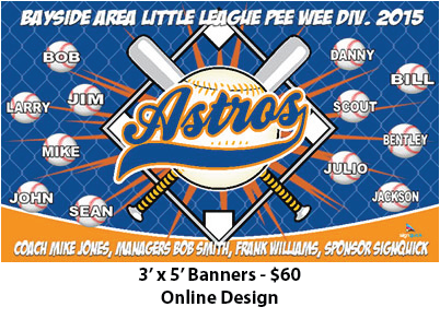 West Coast Sign and Banner - Concord little league baseball banner ...