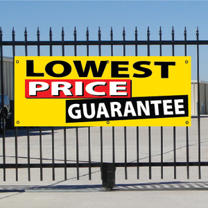 Lowest Price Guarantee Banner - Festive