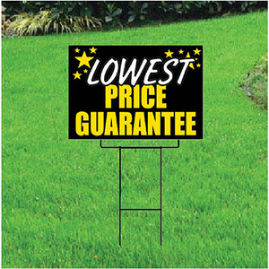 Lowest Price Guarantee Sign Self Storage - Celebration