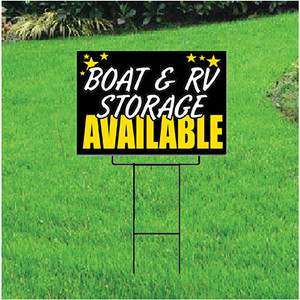 Boat & RV Storage Self Storage Sign - Celebration