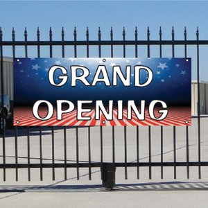 Grand Opening Banner - Patriotic