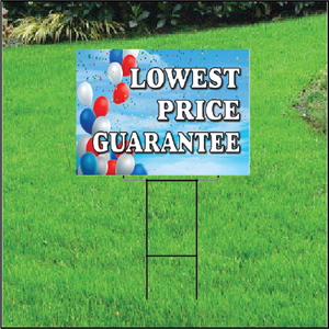Lowest Price Guarantee Sign Self Storage - Balloon Sky