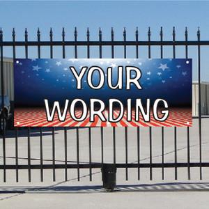 Semi Custom Banner - Patriotic